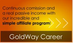 GoldWayFOREX karrierrendszer